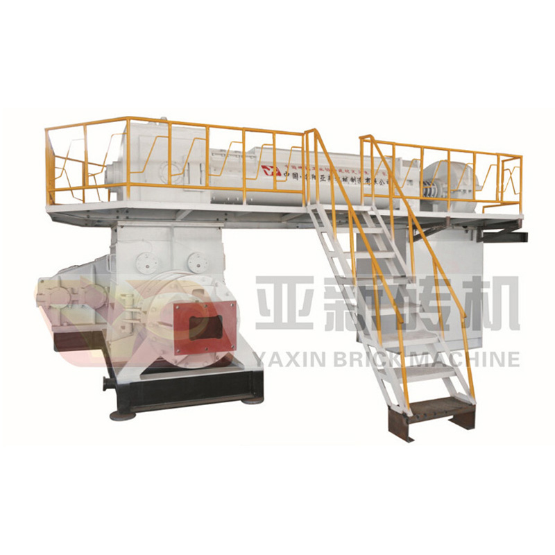 JKY70-4.0 two stage vacuum brick machine